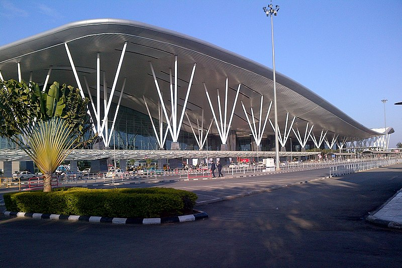 Kempegowda International Airport serves Bangalore in India.