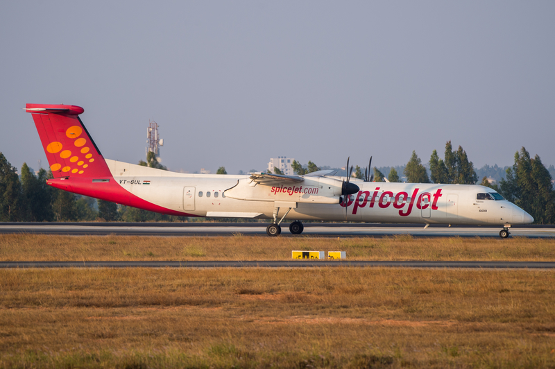 Bengaluru Airport is a focus city for SpiceJet.