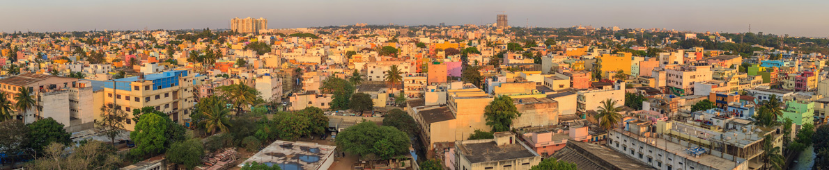 Bangalore is the major city of Karnataka state with a total population of 8,443,675 inhabitants.