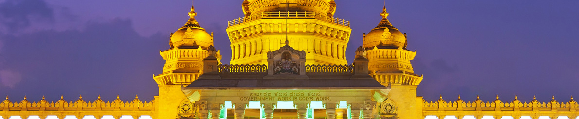 Vidhan Soudha is the most popular and recognizable monument in Bangalore.